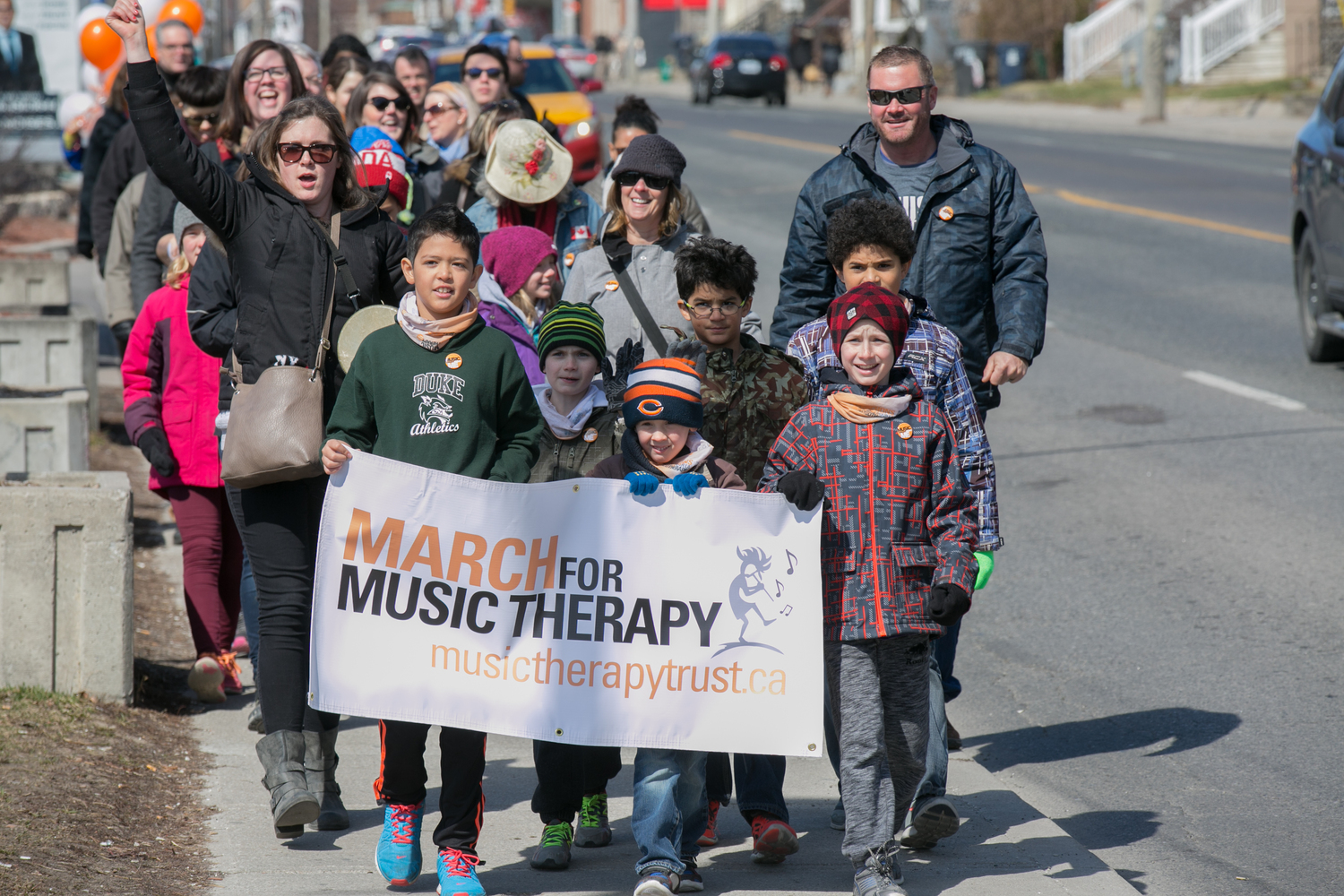 Music March for Music Therapy!